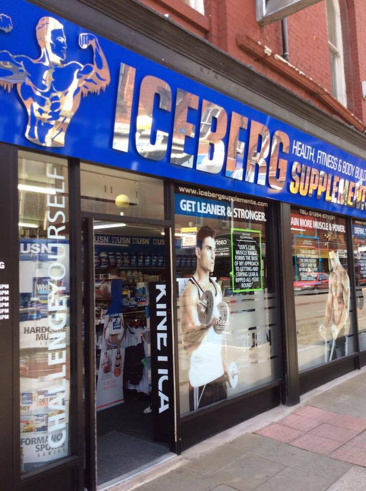 picture of our iceberg supplements store