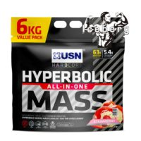 usn hyperbolic mass black 6kg bag