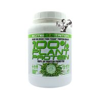 scitec plant protein white and green tub 900g