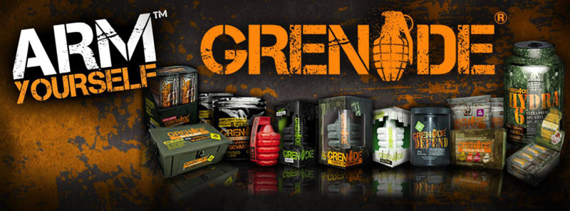 Grenade nutrition logo