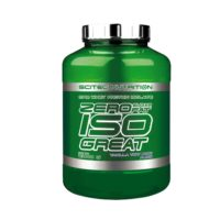 scitec nutrition zero iso great green tub 2kg
