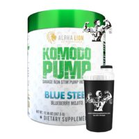 alpha lion komodo stim free pre workout