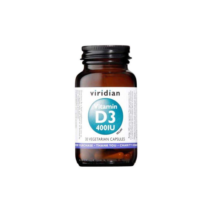 Viridian Nutrition D3 400iu