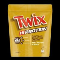 TWIX HI PROTEIN POWDER Delicious Chocolate Biscuit and Caramel Whey Protein 875g