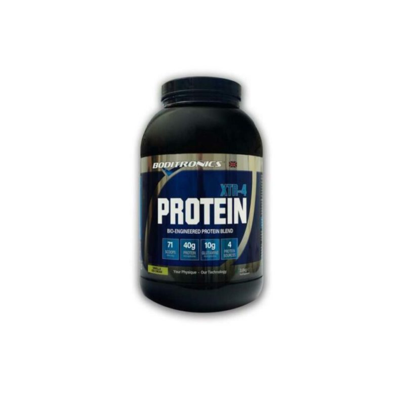 Boditronics Express Protein Blend XTR-4 Casein,Egg,Whey And Soy Protein