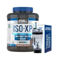 Applied Nutrition ISO-XP - Protein Isolate - 80 Servings & Tornado shaker