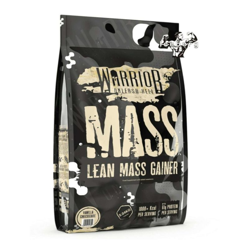 Warrior Mass Gainer 5kg Lean Muscle Weight Gain