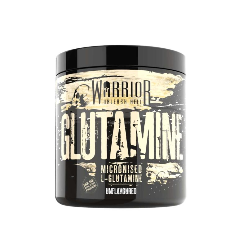 Warrior Glutamine Powder 60 Servings Pure Micronised L-Glutamine Amino Acid 300g
