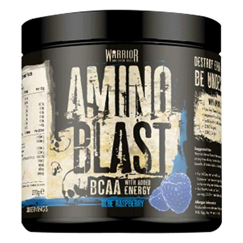 Warrior Amino Blast BCAA Powder; 30 Servings
