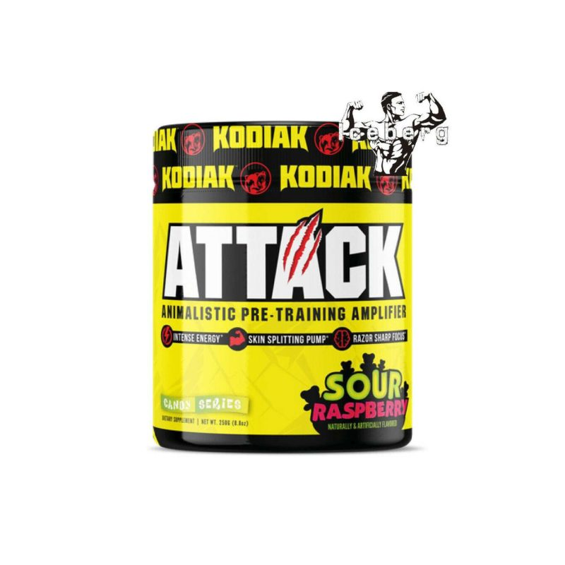 Kodiak attack pre workout