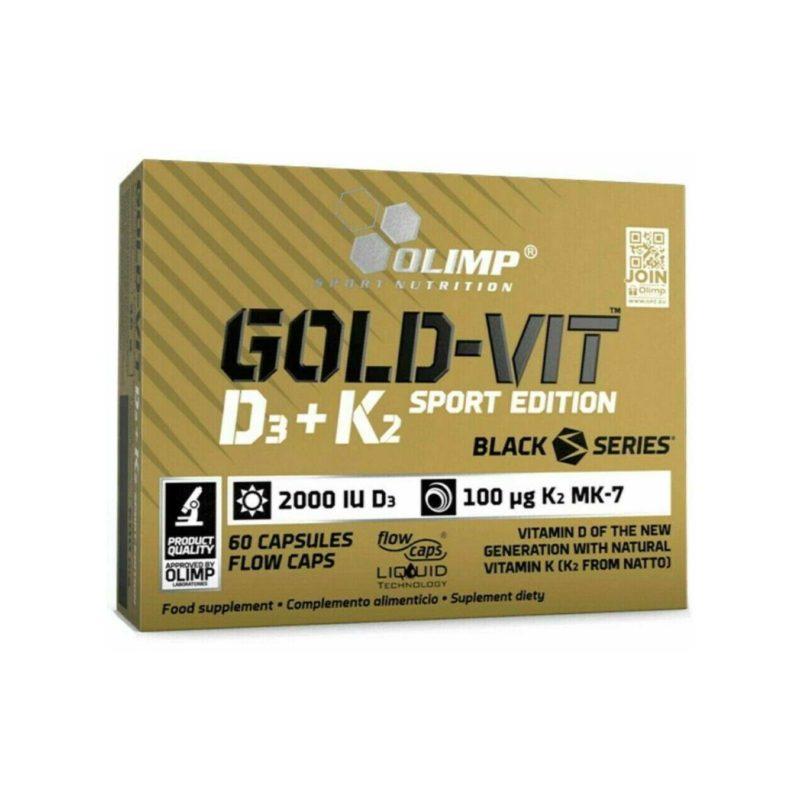 OLIMP GOLD VITAMIN D3 + K2 SPORT