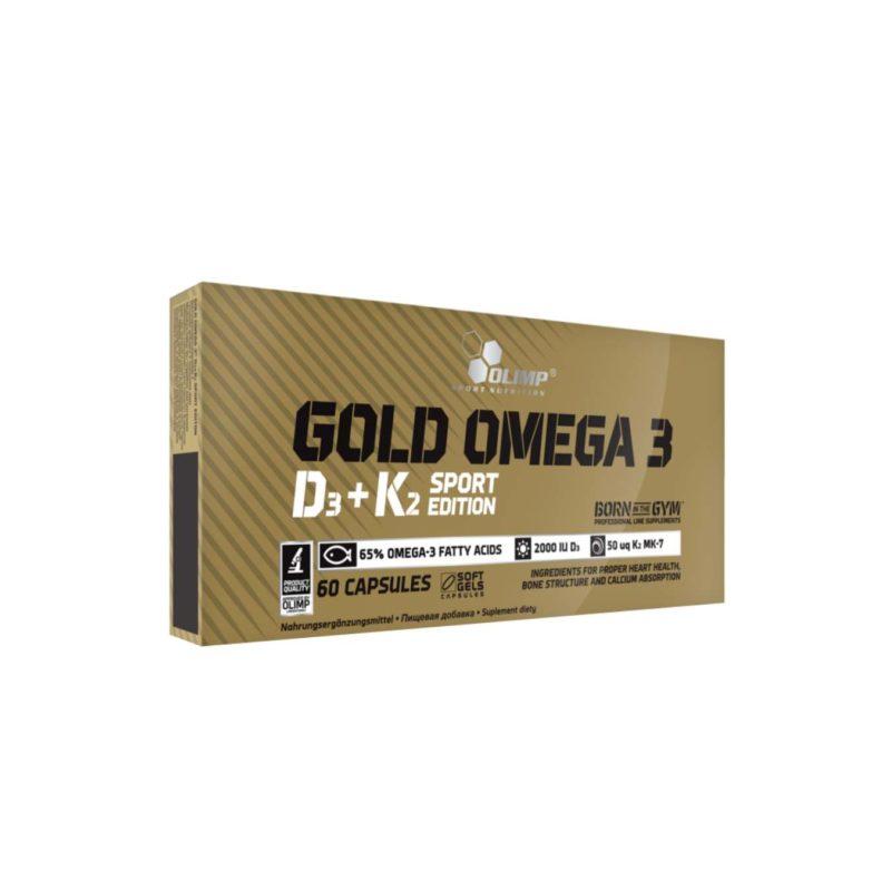 OLIMP GOLD OMEGA 3 D3 K2 SPORT EDITION