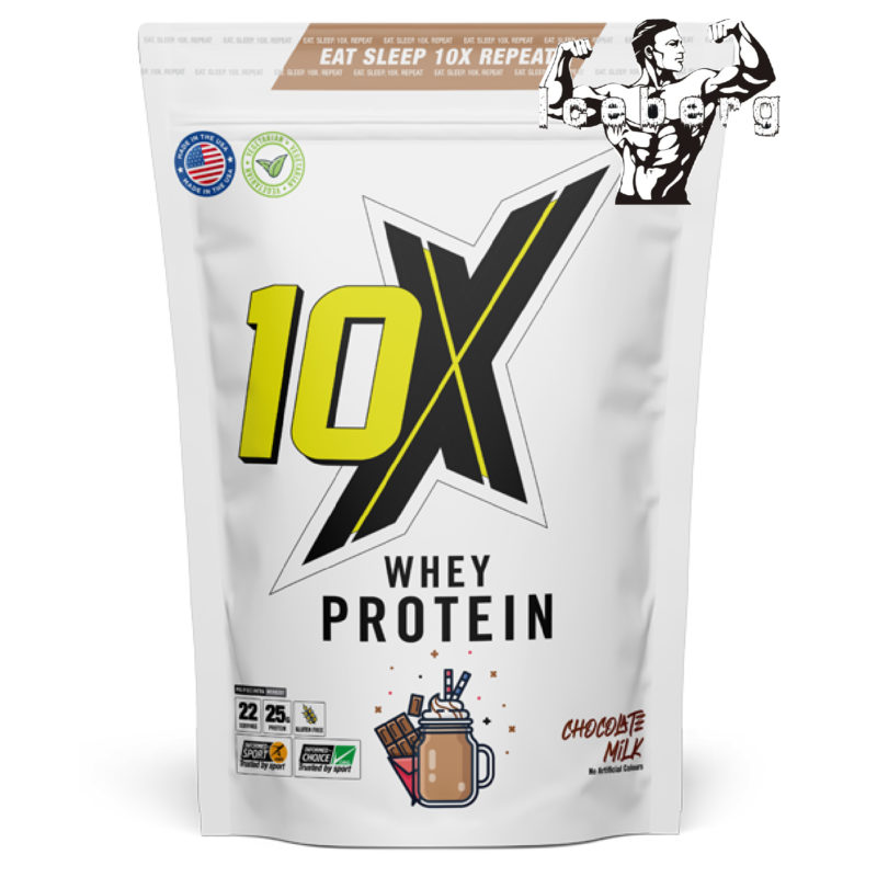 10X Athletic - Whey Protein powder 700g Gluten free taste amazing