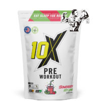 10X Athletic -Pre Workout 125g 25 servings Focus, Strength & Energy!