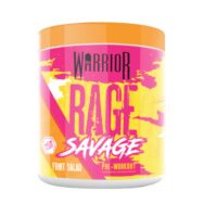 Warrior Rage Savage NEW FULLY DOSED Pre Workout - 40 servings