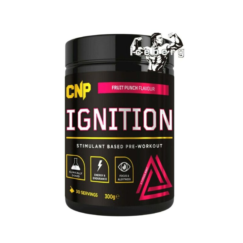CNP Ignition Hard Hitting Fully Loaded Stimulant Based Pre Workout 300g