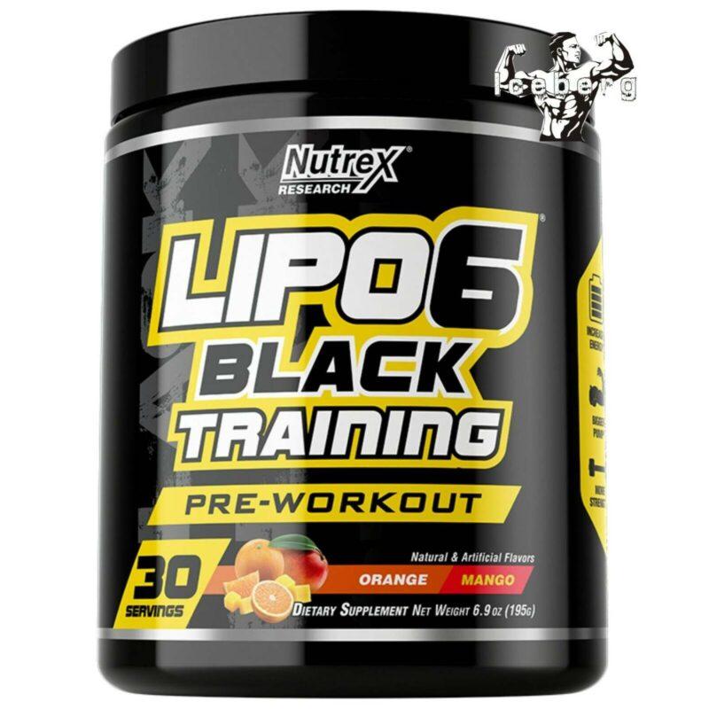 Nutrex Lipo 6 Black Training 30serv.