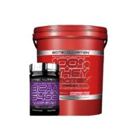 Scitec 5kg whey protein and bcaa 125 tabs