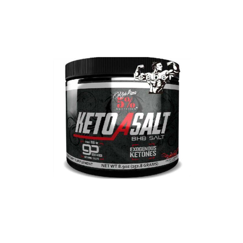 5% Nutrition Keto ASALT with goBHB Salts Cherry Limeade - 252g