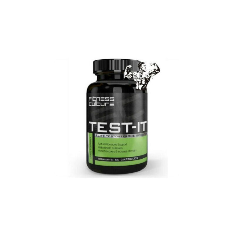 Fitness Culture Test-It - 60 Capsules - ELITE Super Strong Test Booster