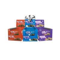 Oatein High Protein Brownies 15 x 60g - Variety Flavours Oat Baked Diet Brownie
