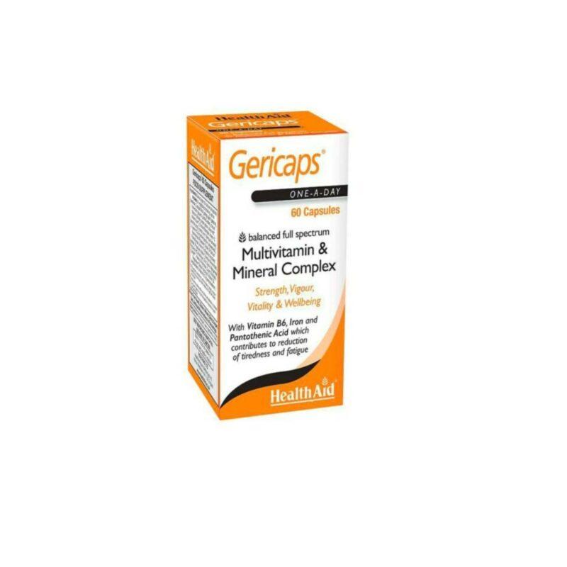 HealthAid Gericaps Multi Vitamin & Mineral 30 Capsules