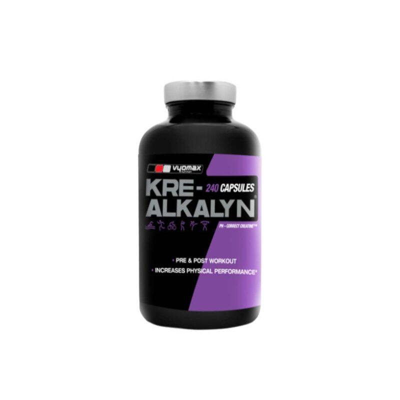 Vyomax Kre-Alkalyn PH Balanced Creatine Strength- Stamina