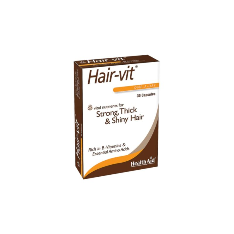 HealthAid Hair-vit Capsules (Hair Vitamins) 30 capsules
