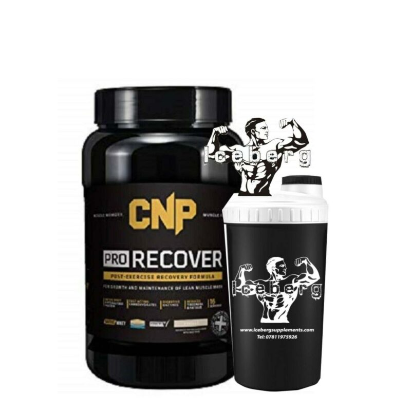 CNP Professional Pro Recover Protein 1.2Kg + FREE SHAKER.