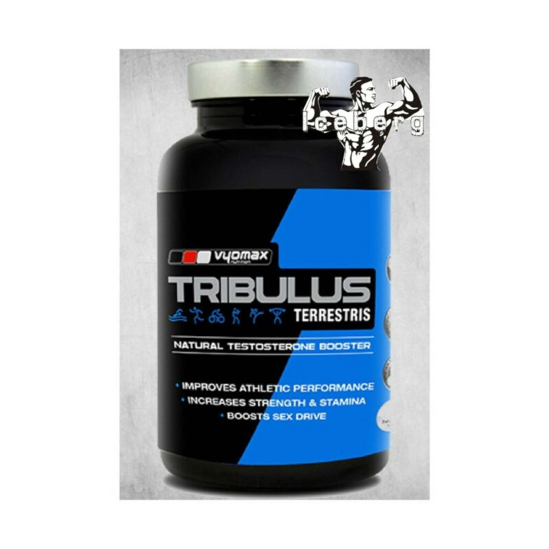 Vyomax Nutrition Tribulus Testosterone Booster 100 caps.
