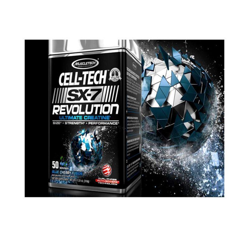 muscletech sx7 revolution ultimate creatine 50 Servings