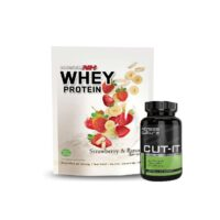 Muscle NH2 Whey Protein Powder 900g Low fat & Low Carbs & CUT IT Fat Burners!