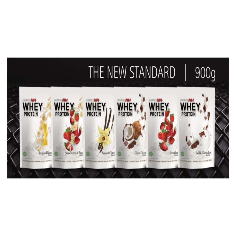 Muscle nh2 whey protein 900g