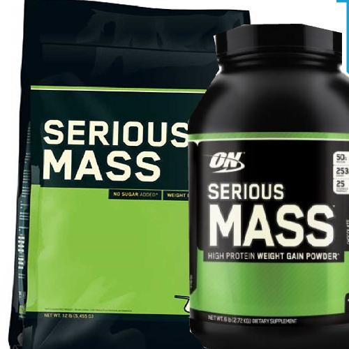 Optimum Nutrition ON Serious Mass 5.4kg/2.73 Weight Gainer