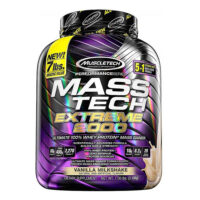 MuscleTech Mass-Tech Extreme 2000 Mass Gainer Protein.