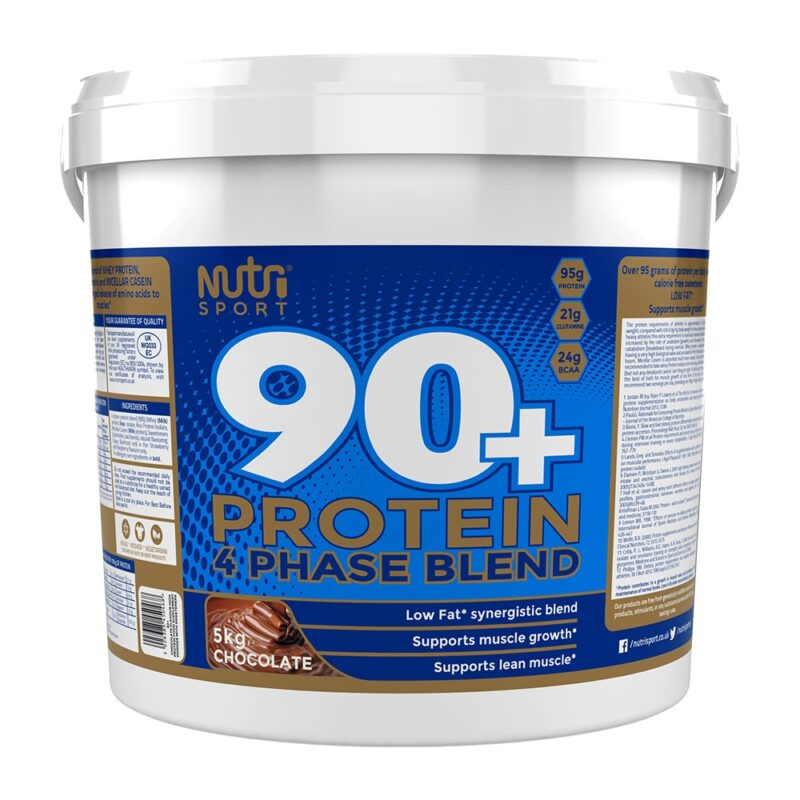 NutriSport 90+ Protein 5KG Lean Muscle Whey Protein.