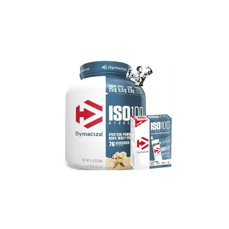Dymatize ISO100 Hydrolyzed Whey Protein Isolate 2.2kg