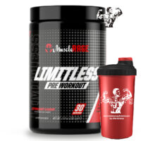 Muscle Rage Limitless Pre Workout Focus Power Performance 30 Servings