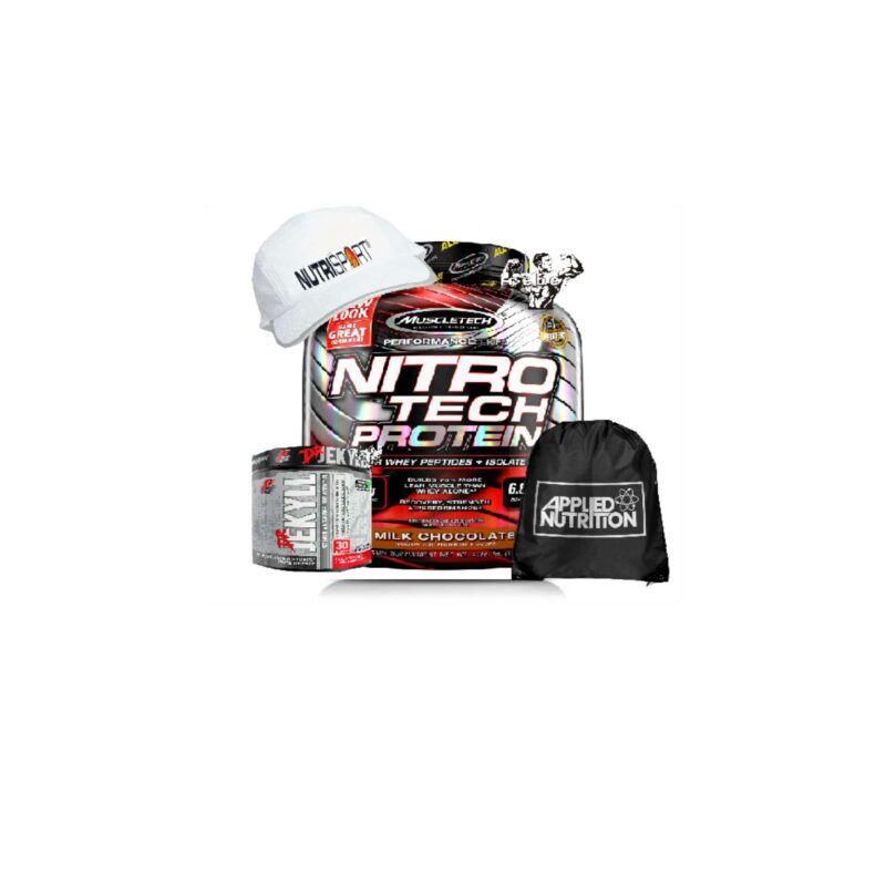 Muscletech Nitrotech 1.8kg Expiry 11/20 & DR Jekyll pre