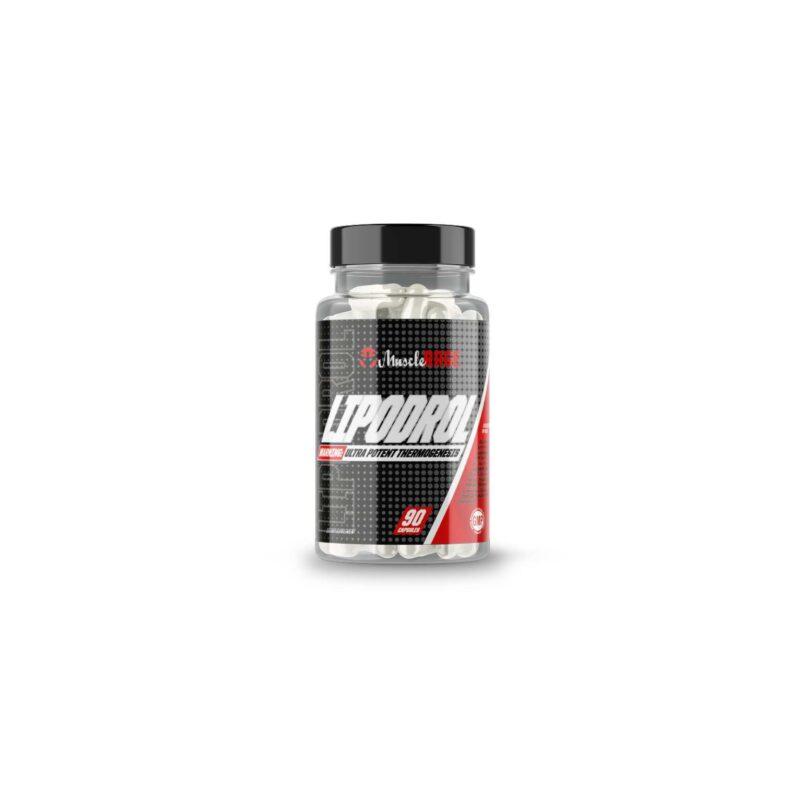 Musclerage LIPODROL – Fat Burner 90 Capsules
