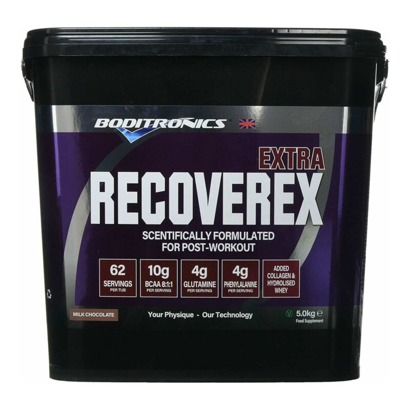Boditronics RecoverEX Extra 5kg / Pro Recover Whey Protein