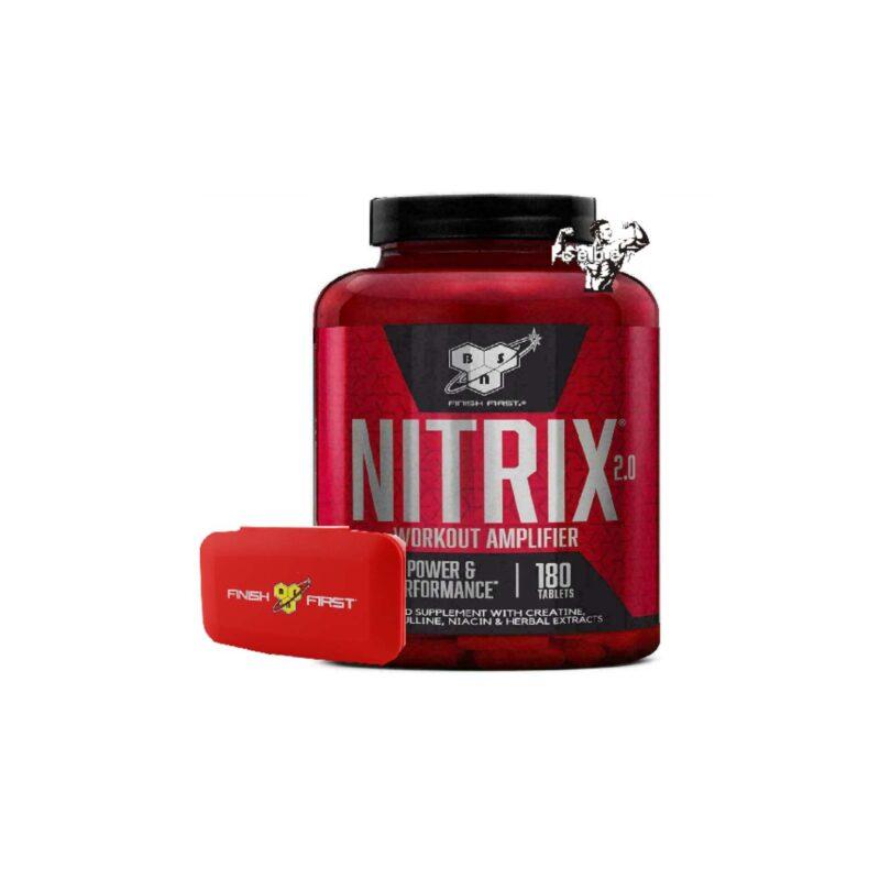 bsn nitrix 2.0 & pill box