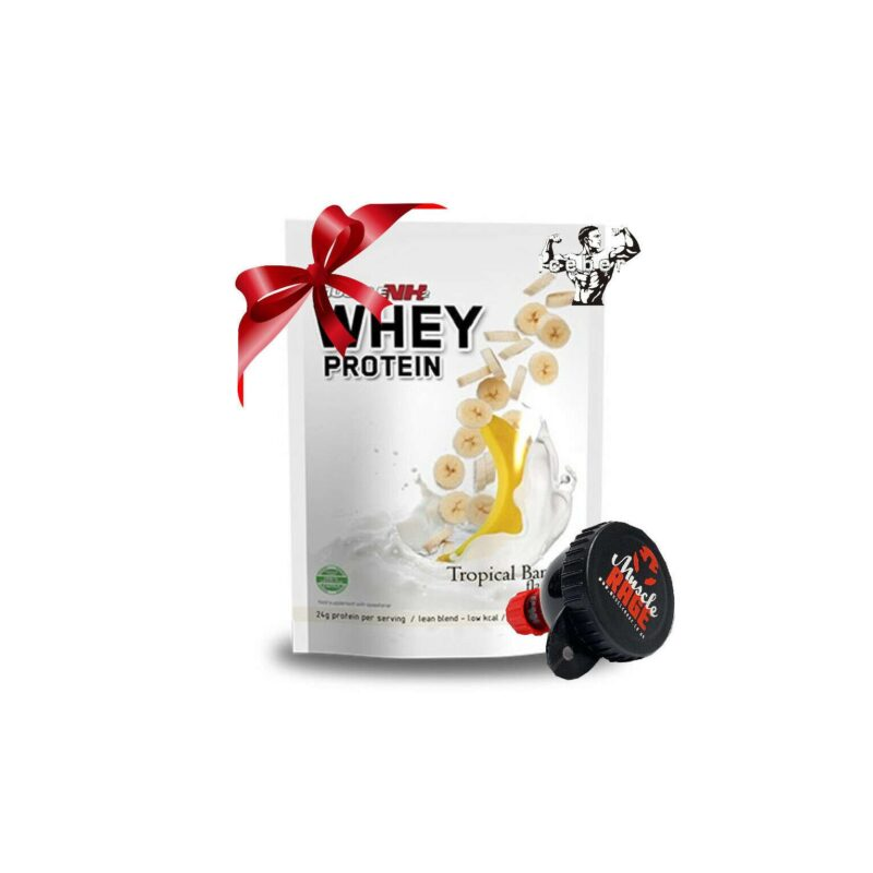 Muscle NH2 Whey Protein Powder 900g Low fat & Low Carbs OFFER WITH FUNNEL!