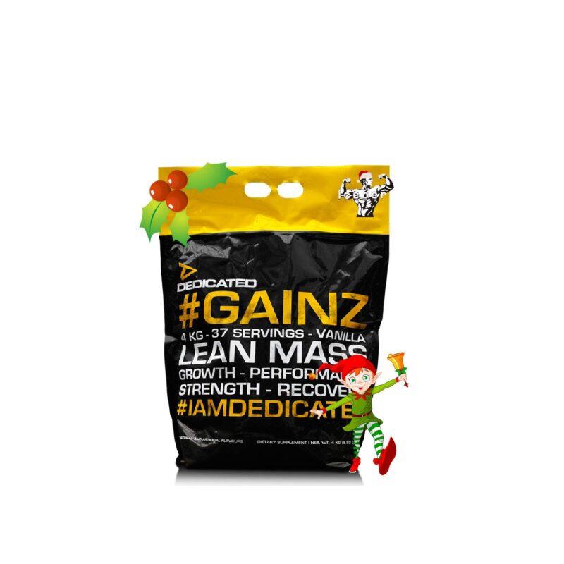 DEDICATED NUTRITION GAINZ - 4KG / 4000G - PROTEIN MASS GAINER