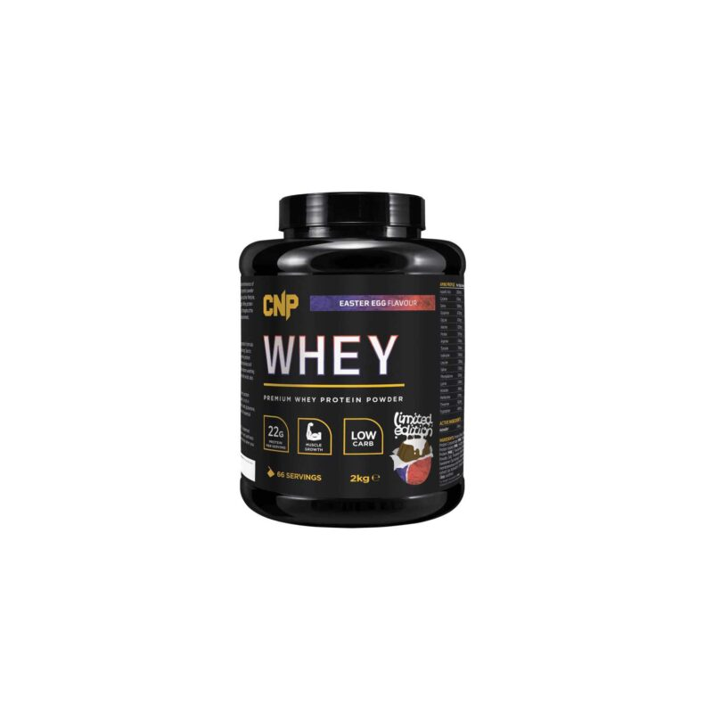 CNP Pro Whey 2kg (66 Servings) High Quality Pure Whey Protein.