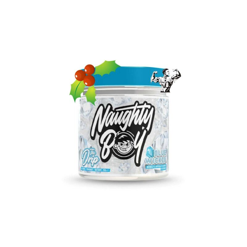 Naughty Boy - The Drip - Fat Burner & Pre Workout - 40 Serve Suitable for Vegans