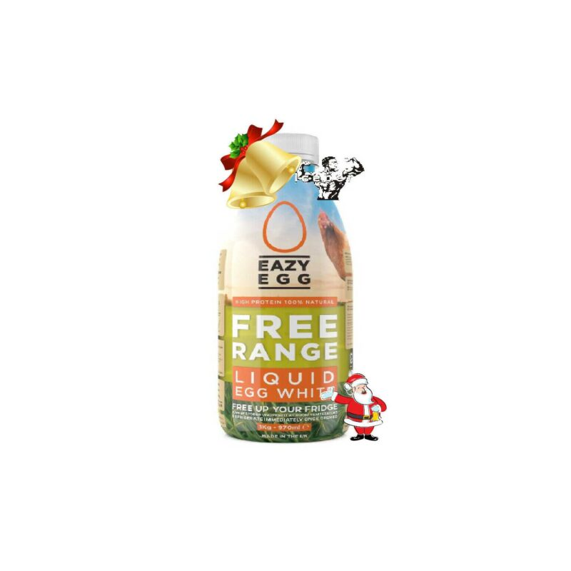 Eazy Egg Free Range Liquid Egg White's - 970ml Christmas offer!
