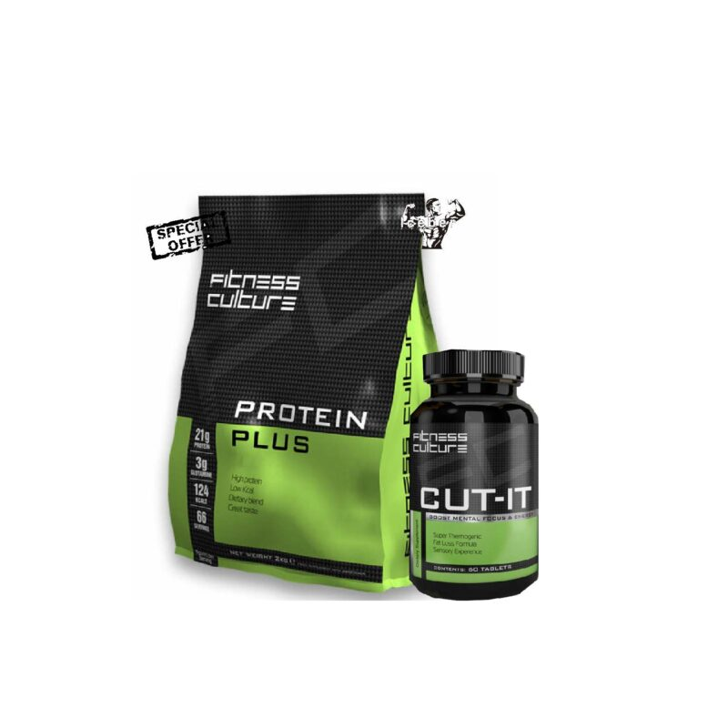 Fitness Culture Protein plus 2kg Low Fat Low Carb Shake