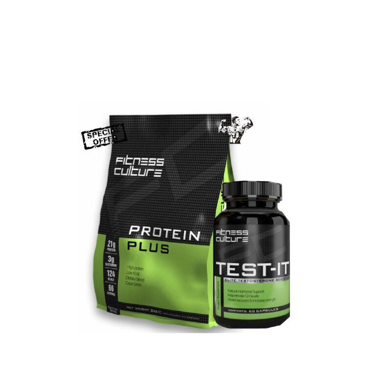 Fitness Culture Protein plus 2kg Low Fat Low Carb Shake & TEST IT