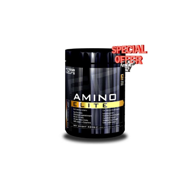 Fitness Culture Amino Elite Muscle repair and Recovery